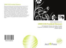Buchcover von 2008 CIS Football Season