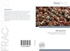 Обложка Aliculastrum