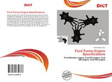Ford Torino Engine Specifications的封面