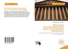Portada del libro de Révisions Constitutionnelles sous la Cinquième République
