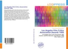 Bookcover of Los Angeles Film Critics Association Awards 1986