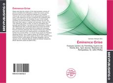 Bookcover of Éminence Grise