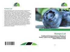 Bookcover of Kampo List