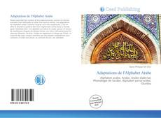 Bookcover of Adaptations de l'Alphabet Arabe