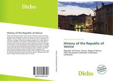 History of the Republic of Venice的封面