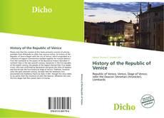 Portada del libro de History of the Republic of Venice
