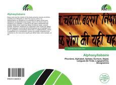 Capa do livro de Alphasyllabaire