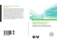 Bookcover of République Française (Régime Politique)