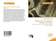 Обложка 2006–07 FC Oţelul Galaţi Season