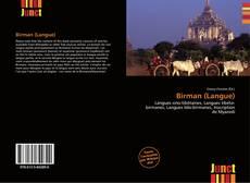 Bookcover of Birman (Langue)
