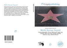 Malik Hassan Sayeed kitap kapağı