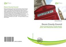 Devon County Council kitap kapağı