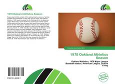 Capa do livro de 1978 Oakland Athletics Season