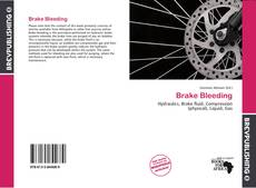 Bookcover of Brake Bleeding