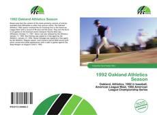 Bookcover of 1992 Oakland Athletics Season