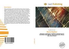 Boris Rybkin kitap kapağı