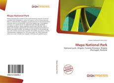 Bookcover of Mupa National Park