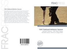 Capa do livro de 1997 Oakland Athletics Season