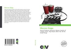 Buchcover von Marcos Siega