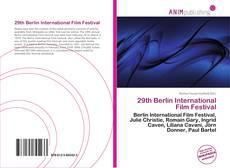 Bookcover of 29th Berlin International Film Festival