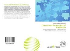 Bookcover of Consumer Federation of California