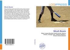 Micah Bowie kitap kapağı