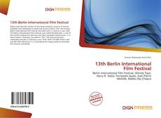Bookcover of 13th Berlin International Film Festival
