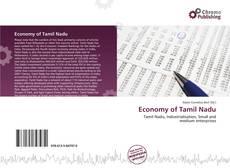 Capa do livro de Economy of Tamil Nadu