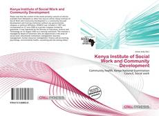 Bookcover of Kenya Institute of Social Work and Community Development