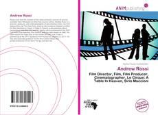 Andrew Rossi kitap kapağı