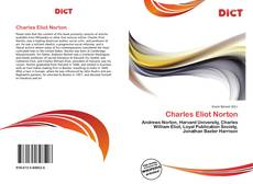 Couverture de Charles Eliot Norton