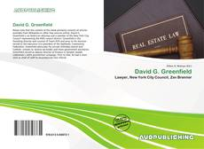 Couverture de David G. Greenfield