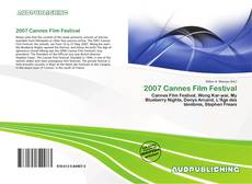 Bookcover of 2007 Cannes Film Festival