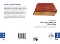 Обложка Badi' Al-Zaman Al-Hamadani
