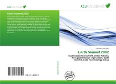 Bookcover of Earth Summit 2002
