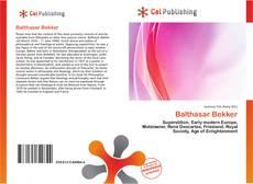 Buchcover von Balthasar Bekker