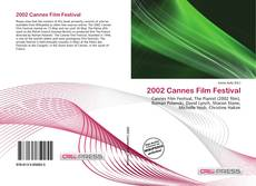 2002 Cannes Film Festival的封面