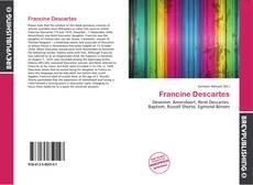 Bookcover of Francine Descartes