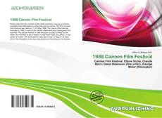 1988 Cannes Film Festival的封面