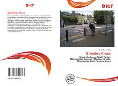 Bookcover of Bromley Cross