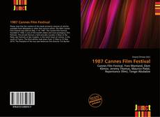 1987 Cannes Film Festival的封面