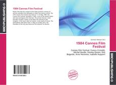 Bookcover of 1984 Cannes Film Festival