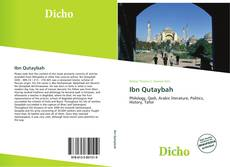 Bookcover of Ibn Qutaybah