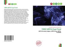 Bookcover of 1982 UEFA Cup Final