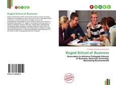 Buchcover von Kogod School of Business