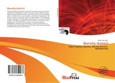 Capa do livro de Bareilly district
