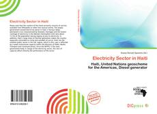 Bookcover of Electricity Sector in Haiti