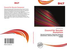 Bookcover of Council for Secular Humanism