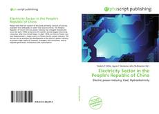 Bookcover of Electricity Sector in the People's Republic of China