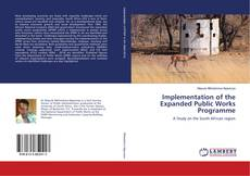 Bookcover of Implementation of the Expanded Public Works Programme